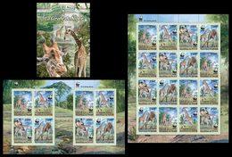 NIGER 2013 - WWF Giraffes. Complete Set; CV = 111 €