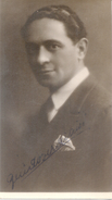 GUIDO VERDIANI ACTOR ITALIANO AUTOGRAFO DE 1927 CUANDO ACTUO EN JUNIO CON LA COMPAGN. PIRANDELLO RARE AUTOGRAPHE SUR CAR - Autographes