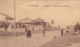 CPA SENEGAL - DAKAR - Le Boulevard National - Senegal
