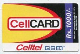 TK9575 Sri Lanka - Prepaid CellCard Rs.1000