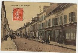 51--DORMANS--RUE DE PARIS--TOILEE-TBE--VOIR 2 SCANS- - Dormans