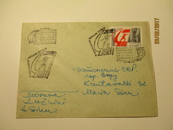 RUSSIA USSR SPORTS PHILATELY EXHIBITION 1967 MOSCOW ,   OLD COVER , 0