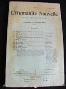 Revue Mai 1899 L' Humanité Nouvelle N° 23 Revue Internationale Littéraire Politique Tendance Anarchiste -- GAR - Livres, BD, Revues