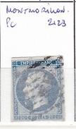 VIENNE - S/14 - 20c Napoleon III Bleu - Oblit PC 2123  (  Montmorillon  ) - 1849-1876: Période Classique