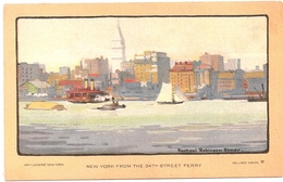 ELMER - NEW YORK From The 34th Street Ferry - Illustrators & Photographers