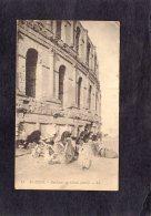 68432   Tunisia,  El-Djem,  Exterieur Du Colisee,  Detail,  NV
