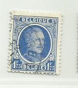 Timbre Belgique Roi Albert I   N° 257 - 1.75 F - 1922-1927 Houyoux