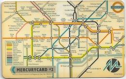 UK - Mercury - London Reg. Transport (Issue 2), 24MERA - MER235 - 34.500ex, Used - United Kingdom