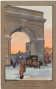 ELMER - WASHINGTON Arch At Wintertwilight - Illustrators & Photographers