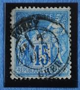 Sage N°90.Type II Ob.(CAD) FOECY 7 Oct 1878.