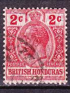 Britisch-Honduras - König Georg V. (MiNr: 67) 1913 - Gest Used Obl - Britisch-Honduras (...-1970)