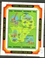 SAMBIA -  85/8 = Block 2  Kompl. Postfrisch  MNH
