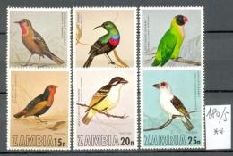 SAMBIA - 180/5  Einheim.Vögel  Kompl. Postfrisch  MNH