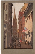 ELMER - Trinity Church And Wall Street - Illustrateurs & Photographes