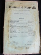 Revue Juin 1899 L' Humanité Nouvelle N° 24 Revue Internationale Littéraire Politique Tendance Anarchiste -- GAR - Livres, BD, Revues