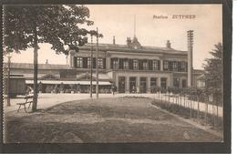 Zutphen.Station Met Spoorwagen En Mast - Zutphen