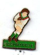 PIN's RUGBY CLUB URRUGNE COMITE COTE BASQUE LANDES - Rugby