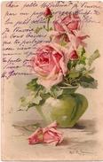 KLEIN - Rose Dans Un Vase Vert  - Dos Simple - Klein, Catharina