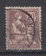 FRANCE 126  – Oblitéré – Mouchon (1902)