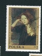 N° 1794 Portrait De Deux Filles Par Olga Boznanska Timbre  Pologne Oblitéré/neuf    Polska 1969