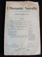 Revue Mars 1899 L' Humanité Nouvelle N° 21 Revue Internationale Littéraire Politique Tendance Anarchiste -- GAR - Livres, BD, Revues