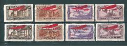 Colonie PA De Syrie De 1926  N°30 A 37   (3 Oblitérés Et 5 Neufs) Cote 28,40€ - Airmail