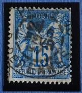 Sage N°101.Type II Ob.(CAD ) .PARIS Rue De Rennes 6 Fév 1897.( Bur 10 )