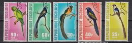 TOGO : 750-53 + LP/PA 184  Birds  Oiseaux  Vogels  (1972) (0)
