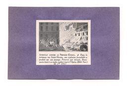 EX LIBRIS  ATTENTAT CONTRE LE PREMIER CONSUL -  Dans La Tortueuse Rue St Nicaise .... - Ex-libris