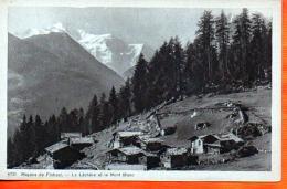 4067 - VS - Mayens De Finhaut - La Léchère Et Le Mont BlancPhototypie Co, Neuchâtel9731