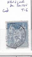 VIENNE - S/79 - 25c Sage Bleut  - Oblit  CAD  T16  (   Neuville De Poitou  ) - Marcophilie (Timbres Détachés)