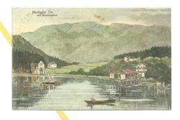 AK Montiggler See - Südtirol - Verlag Pernat - Stempel Meran - Ohne Zuordnung