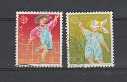 Suisse  1989   .n° 1323 / 24 . Oblitéré . EUROPA - Gebraucht