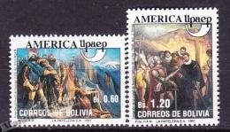 Bolivia - Bolivie 1991 Yvert 781- 82, America UPAEP - MNH