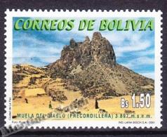 Bolivia - Bolivie 2001 Yvert 1082, Muela Del Diablo Mountain - MNH