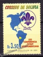 Bolivia - Bolivie 2001 Yvert 1088, 21th Interamerican Scout Jamboree - MNH