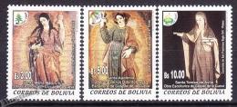Bolivia - Bolivie 2001 Yvert 1103- 1105, Christmas, Noël - MNH