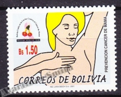 Bolivia - Bolivie 2001 Yvert 1106, Breast Cancer Prevention - MNH