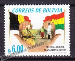 Bolivia - Bolivie 2001 Yvert 1108, Cooperation With Belgium - MNH