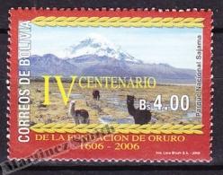 Bolivia - Bolivie 2006 Yvert 1228, Oruro City 400th Foundation Anniversary  - MNH