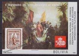 Bolivia - Bolivie 1985 Michel BL 150 - Christopher Columbus - MNH