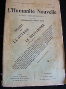 Revue Mai 1899 L' Humanité Nouvelle N° Spécial Revue Internationale Littéraire Politique Tendance Anarchiste -- GAR - Livres, BD, Revues