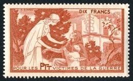 France - Vignette Bienfaisance PTT 'Victimes De La Guerre' N°59 **  ..Réf.FRA28868 - Erinnophilie