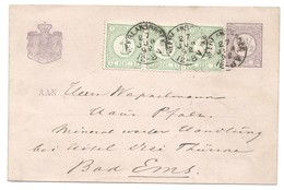 Nederland 1892 Briefkaart Cijfer, Met 3 X Nr.31 En Kleinrond Neerlangbroek. Cv 22,50
