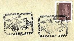 """Espagne / Spain (1996) - Benalup 2000 : Grotte """"Tajo De Las Figuras"""" - Peintures Rupestres / Cave Paintings. Chasseur."""