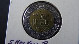 Mexico - 1993 - 5 New Pesos - KM 552 - VF/XF - Look Scans - Mexiko