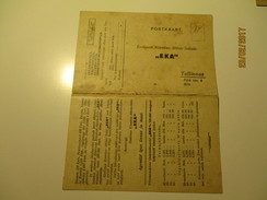 ESTONIA  INSURANCE UNION EKA , RESPONSE WITH ADVERT ,   OLD Postcard , 0