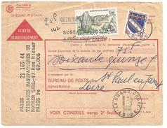 OBLITERATION DE LA GRAND CROIX (LOIRE) DU 11/5/1966 - Marcophilie (Lettres)