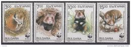BULGARIJE / BULGARIEN MI.NR. 4124-4127 WWF  MNH / POSTFRIS / NEUF SANS CHARNIERE 1994