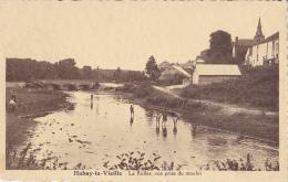 HABAY-LA-VIEILLE : La Rulles, Vue Prise Du Moulin